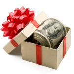 Коробка с деньгами